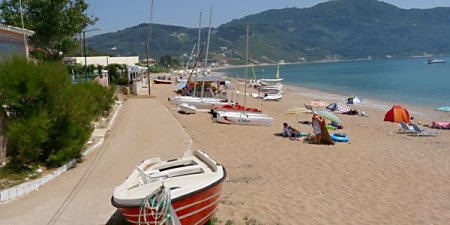 Photograph of Agios Geogios beach